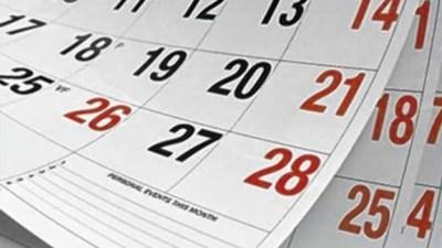 2 сентября отмечают День корректировки календаря